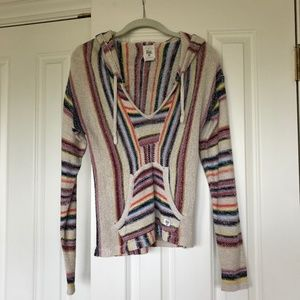 Billabong Rainbow Stripe Beach Pull-Over